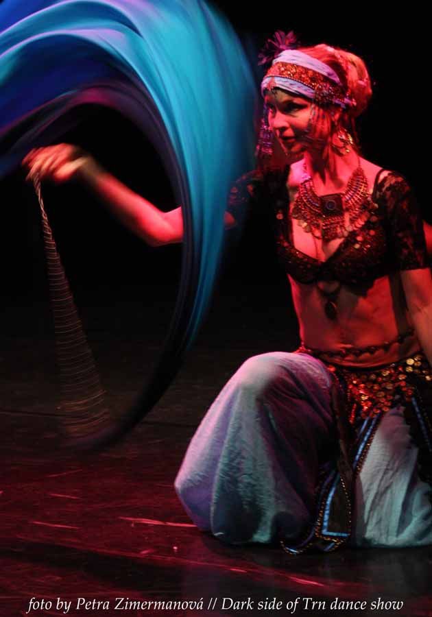 veil poi tribal dance